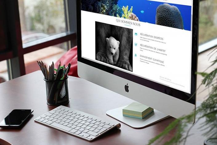 Création de site web pour un conservatoire de la faune