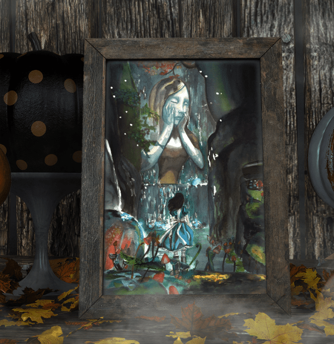 "Création de l'illustration ""Alice Madness Returns"""